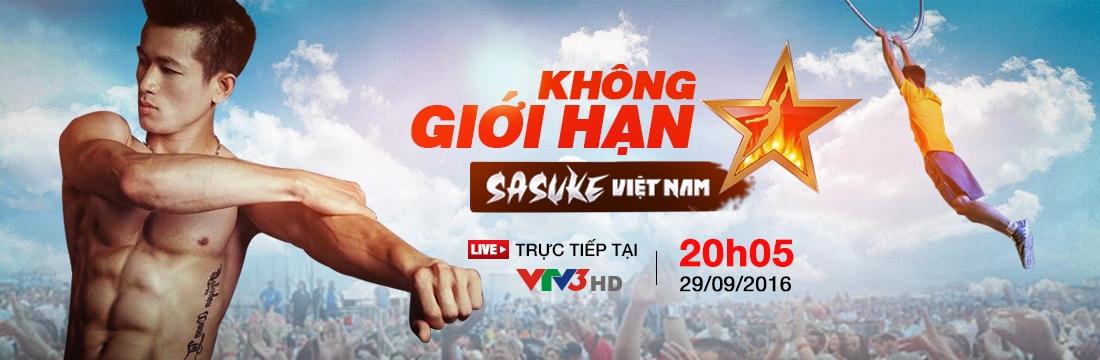 Gameshow: Không giới hạn - Sasuke Việt Nam